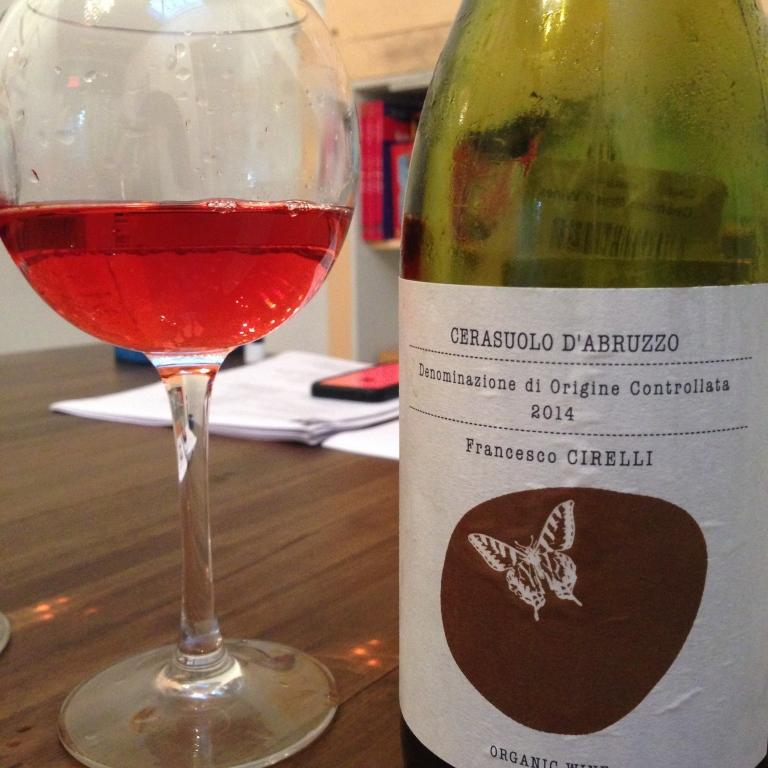 a delish Italian rosato