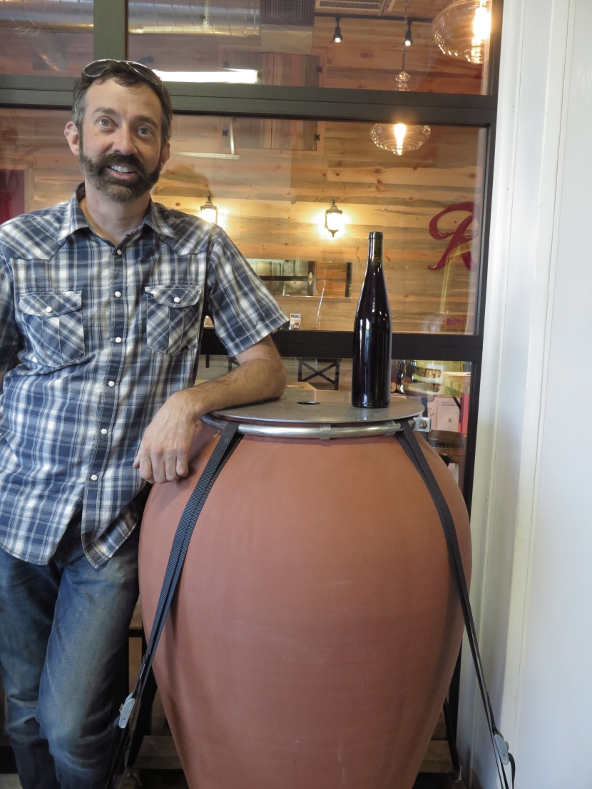 """Everything But Barrel"" Winemaking (aka Wherever You Go, There Amphora Is)"